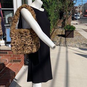 Custom Louis Vuitton fur bag